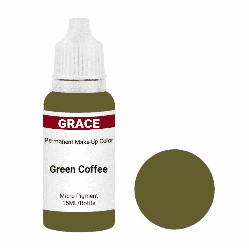 Green Coffee Micro Pigment for PMU