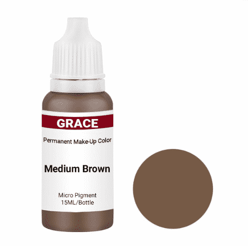 Grace Madium Brown permanent makeup pigment